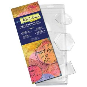 Gel Press Petites Printing Plates