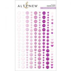 Altenew Shades of Purple Enamel Dots