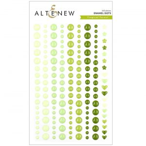 Altenew Tropical Forest Enamel Dots
