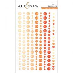 Altenew Warm and Cozy Enamel Dots