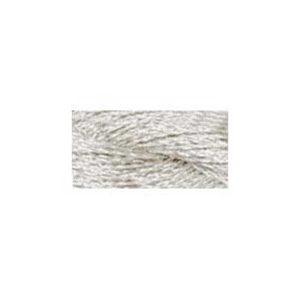 DMC Silver Metallic Pearl Cotton Skein Size 5 class=