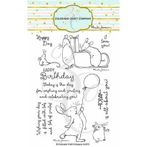 Colorado Craft Company Birthday Wishing Stamp class=