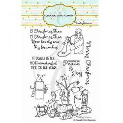 Colorado Craft Company Anita Jeram~Wonderful Time Stamp Set