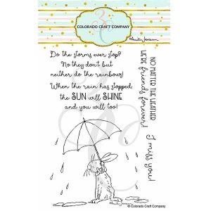 Colorado Craft Company Anita Jerem-All Weather Friend Stamp Set