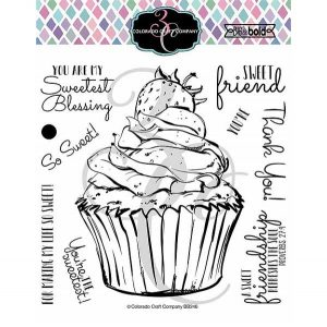 Colorado Craft Company Big & Bold~Sweetest Friend Cupcake