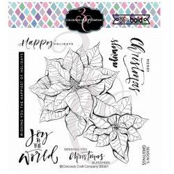 Colorado Craft Company Big & Bold Poinsettia Blessings