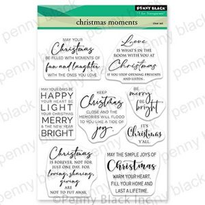 Penny Black Christmas Moments Stamp Set
