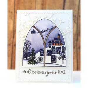 Penny Black Frozen Vista Stamp Set class=