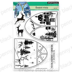 Penny Black Frozen Vista Stamp Set