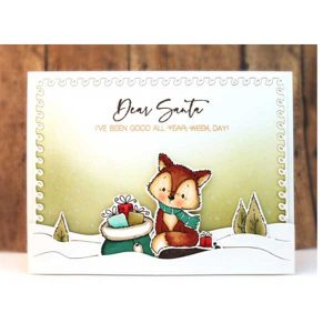 Penny Black Snowfield Friends Stamp Set class=