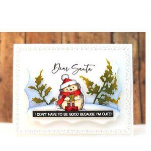 Penny Black Dear Santa Stamp Set class=