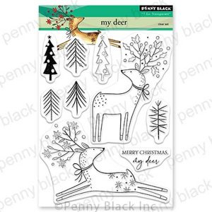 Penny Black My Deer Stamp Set