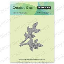 Penny Black Holly Branches Creative Dies