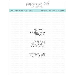 Papertrey Ink Just Sentiments: Together Mini Stamp