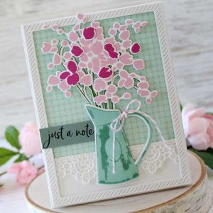 Papertrey Ink Abundant Blooms Stamp class=