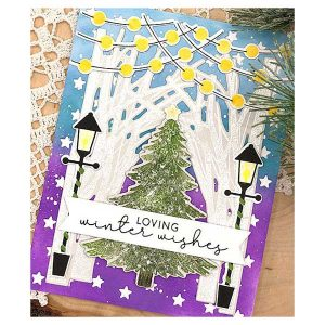 Papertrey Ink Winter Woodlands Stamp class=