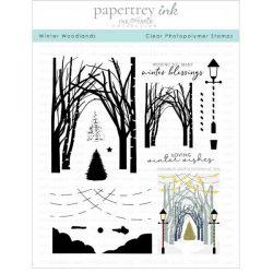 Papertrey Ink Winter Woodlands Stamp