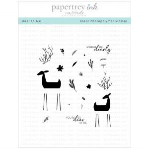 Papertrey Ink Deer To Me Stamp