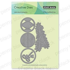 Penny Black Beautified Baubles Creative Dies