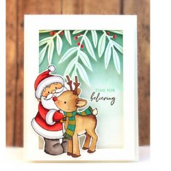 Penny Black Jingle Friends Mini Stamp
