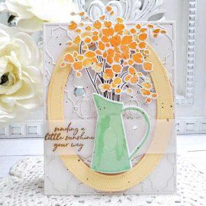 Papertrey Ink Abundant Blooms Die class=