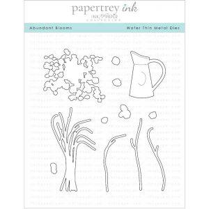 Papertrey Ink Abundant Blooms Die
