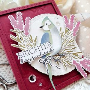 Papertrey Ink Feathered Friends 6 Die class=