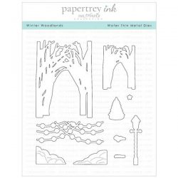 Papertrey Ink Winter Woodlands Die