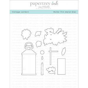 Papertrey Ink Vintage Lantern Die