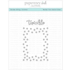 Papertrey Ink Border Bling: Twinkle Die