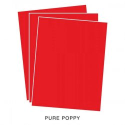Papertrey Ink Pure Poppy Cardstock