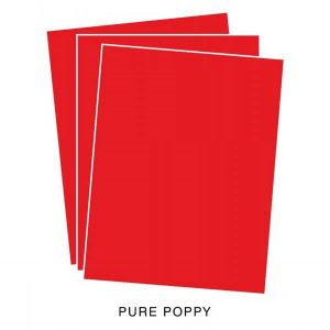 Papertrey Ink Pure Poppy Cardstock