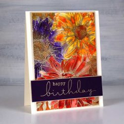 Colorado Craft Company Big & Bold~Daisy & Dahlia