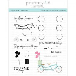 Papertrey Ink Anywhere Together Stamp Set