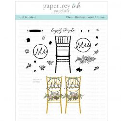 Papertrey Ink Just Married Stamp