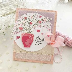 Papertrey Ink Branches of Love Stamp class=