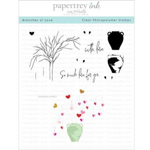 Papertrey Ink Branches of Love Stamp