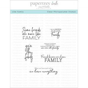 Papertrey Ink Like Family Stamp Set