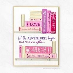 Papertray Ink Storybook Love Stamp
