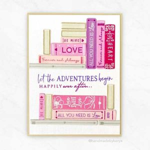 Papertray Ink Storybook Love Stamp class=