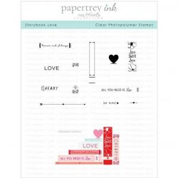 Papertray Ink Storybook Love Stamp