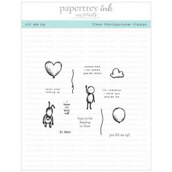 Papertrey Ink Lift Me Up Stamp