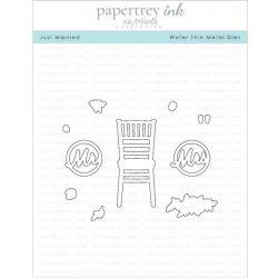 Papertrey Ink Just Married Die