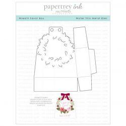 Papertrey Ink Wreath Favor Box