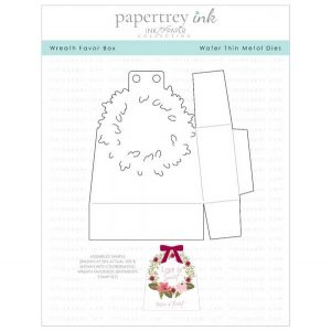 Papertrey Ink Wreath Favor Box