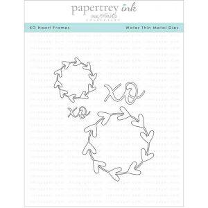 Papertrey Ink XO Heart Frames