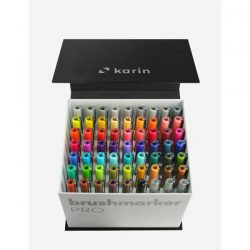 Karin BrushmarkerPRO - MegaBox 60 colours + 3 blenders