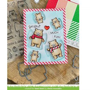 Lawn Fawn Snow Much Fun Stamp Set class=