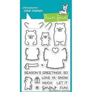 Lawn Fawn Snow Much Fun Stamp Set