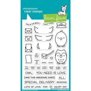 Lawn Fawn Special Delivery Stamp Set